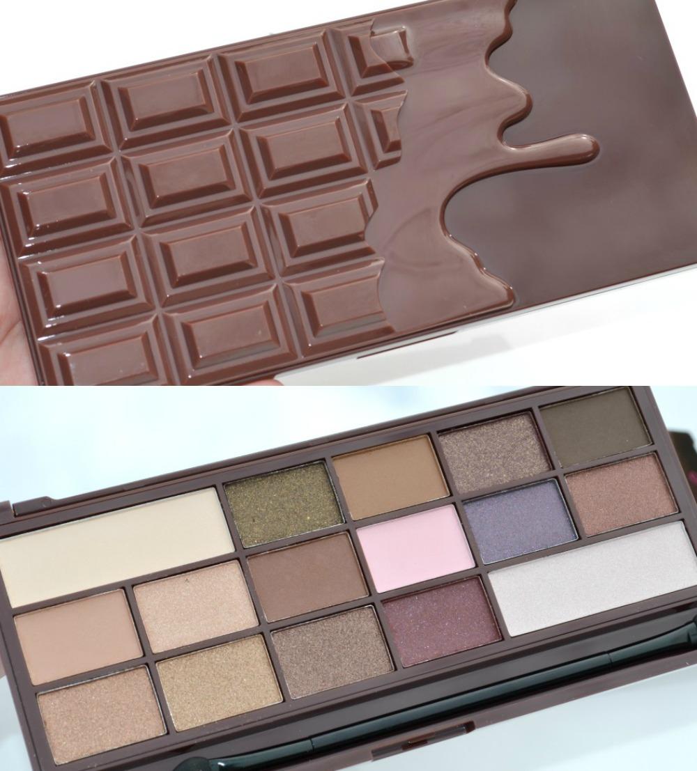 Le make up gourmand chocolate bar de too faced les - Tablette de maquillage ...
